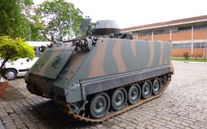 Picture Brazil, armored, BAE Systems, armored vehicle, armed forces, M113, Brazilian army, M113A2 Mk1, M113BR