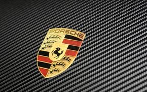 Wallpaper 911, Porsche, emblem, logo, 2018, GT2 RS