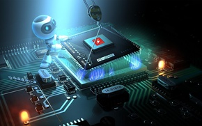 Picture robot, technology, channel, processor, hi-tech, youtube, render, design, checked electronics, checked, information technology