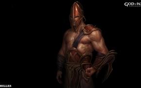 Picture game, armor, God of War, hero, God, strong, muscular, God of War Ascension, Achilles, Mythological …