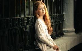 Picture girl, the beauty, Sergey Piltnik