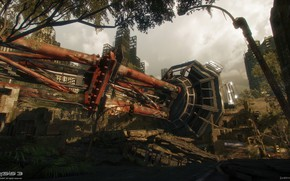 Picture the city, construction, destruction, Crysis 3 MP, Hells Kitchen