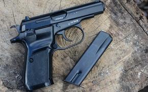 Wallpaper macro, gun, weapons, CZ82