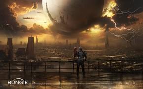 Picture the city, ball, Destiny 2 Cinematics Paintings Bundle