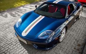 Picture sports car, Ferrari 360, Ferrari 360 Challenge Stradale.