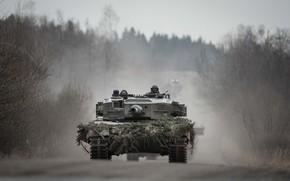 Picture German, main, battle tank, Leopard 2