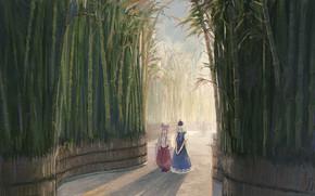 Picture Girls, Bamboo, Touhou, Touhou