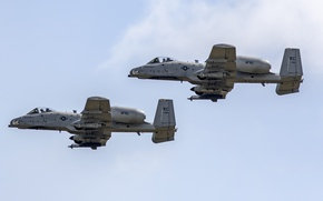 Picture attack, Thunderbolt II, single, twin-engine, A-10C