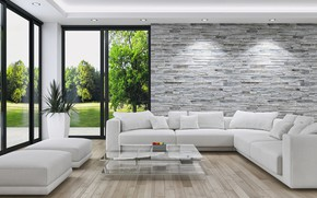 Picture design, style, interior, design, style, living room, living room, interior