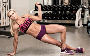 Picture model, pose, fitness
