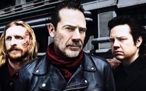 Picture The Walking Dead, Dwight, Negan, Dr. Eugene, Season 8