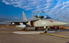 Wallpaper Yakovlev, light attack, The Yak-130, Russian combat training aircraft, The Russian air force