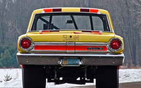 Picture Ford, Thunderbolt, 1964, Muscle car, Fairlane