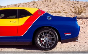 Picture design, style, Dodge Challenger
