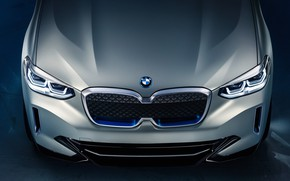 Picture Concept, 2018, the front part, electrocreaser, BMW iX3