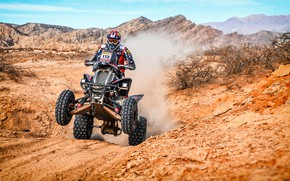 Wallpaper Mountains, ATV, Hills, Racer, Moto, Rally, Dakar, Dakar, Rally, 113