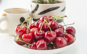 Picture Cherry, Berry, Bowl
