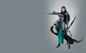 Picture girl, the game, art, assassin, Hidden door knife, Hao hao, costume design