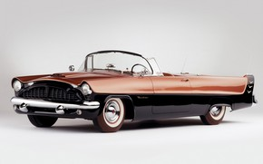 Picture Panther, Retro, Packard, Daytona, 1952
