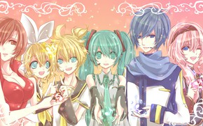 Picture anime, Vocaloid, Vocaloid, characters