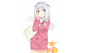 Picture kawaii, bear, blush, anime, asian, manga, japanese, oriental, asiatic, sugoi, bishojo, light novel, kuma, EroManga-Sensei, …