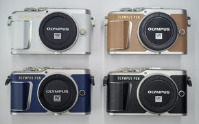 Picture cameras, olympus, four
