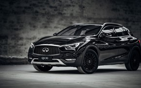 Picture Infiniti, Night Edition, crossover, 2017, QX30