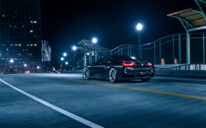 Picture BMW, Black, Night, Collection, Aristo, Rear