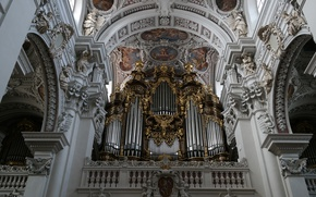 Picture Germany, Bayern, body, Cathedral, Passau, St. Stephen's Cathedral