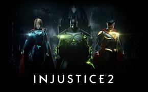 Picture girl, game, Batman, armor, man, bat, Superman, hero, mask, suit, Supergirl, Bruce Wayne, powerful, strong, …