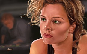 Picture art, Starship Troopers, Dizzy, Dizzy, Starship troopers, Dina Meyer