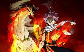 Picture fire, flame, game, anime, dragon, manga, japanese, Fairy Tail, Natsu Dragneel, spark, dragon slayer, Etherias …