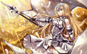 Picture flag, Fate / Grand Order, girl, anime