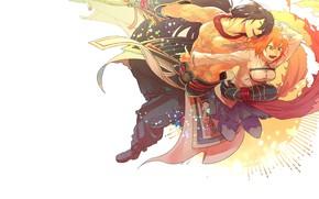 Picture anime, art, two, fate/grand order, fujimaru ritsuka