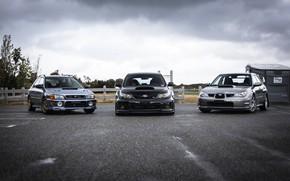 Picture Subaru, WRX, STI, Gang