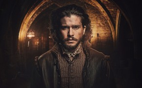 Picture the series, poster, TV Series, Kit Harington, Kit Harington, Gunpowder, Gunpowder