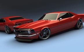 Picture retro, coupe, Chevrolet, Camaro
