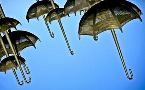 Picture the sky, umbrella, umbrella