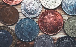 Picture Queen, money, coin, pound