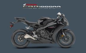 Picture Honda, CBR1000RR, Black