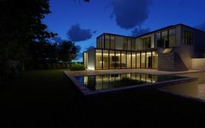 Picture house, pool, architecture, structure, ARCHVIZ
