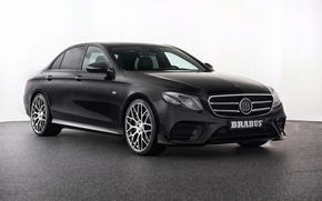 Wallpaper Mercedes, W213, Mercedes, sedan, E-Class, Brabus