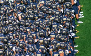 Picture sport, American football, players, Pitt vs Penn State