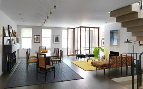 Picture interior, New York, living room, living space