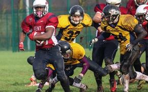 Wallpaper 20 seconds to touchdown, american football, sport