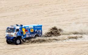 Picture Sand, Sport, Speed, Truck, Race, Master, Russia, Kamaz, Rally, Dakar, KAMAZ-master, Dakar, Rally, KAMAZ, 507, …