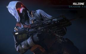 Picture gun, game, Killzone, weapon, hood, Killzone Shadow Fall