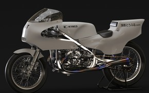 Picture design, motorcycle, Kymco