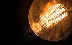Picture light, energy, incandescent, filaments