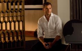 Picture cinema, man, movie, book, film, smartphone, Jamie Dornan, Fifty Shades of Grey, Christian Grey, Fifty …
